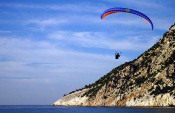 Μυρτος paragliding